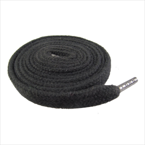 Black  Inch Elastic Shoe Laces