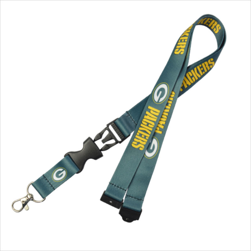 a46ec48e6 Neoprene nfl lanyard china wholesale · Nfl lanyards for Green Bay Packers  team